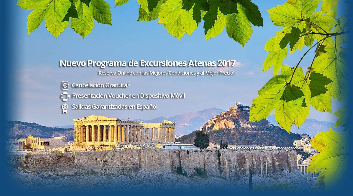 Nuevo Programa Excursiones en Atenas y Circuitos Grecia 2017