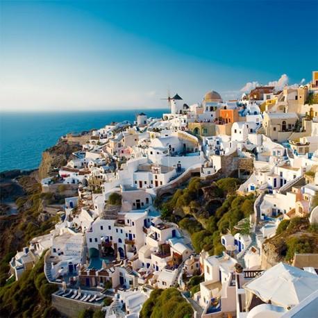 Excursión a Santorini desde Atenas, 2 días, Hotel con Vistas Acantilado