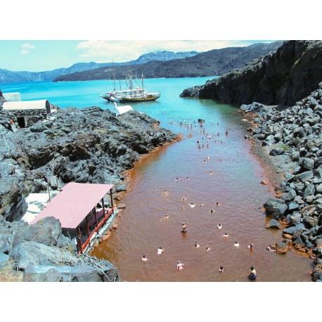 Aguas Termales , en Palea Kameni, Hot Springs