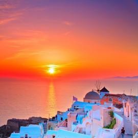 Tour Guiado Santorini en español + Puesta de Sol Oia