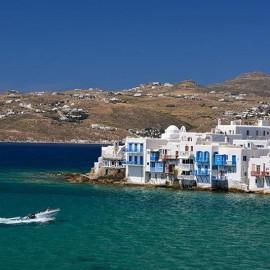 Tour Excursión a Delos y Mykonos desde puerto Naoussa en Paros