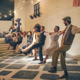 Espectáculo Boda Griega en Santorini