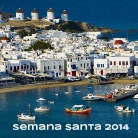 Viaje a Atenas y Mykonos | 8 DIAS | Oferta Especial Semana Santa 2014 desde Madrid