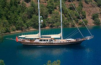 Barcos Goletas en Turquía