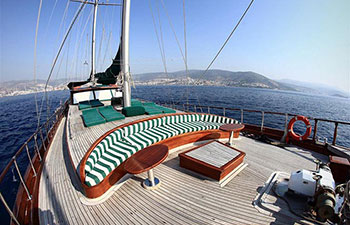 Alquiler de barco goleta en Turquía