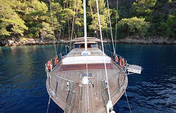 Charter náutico de Goletas en Turquía