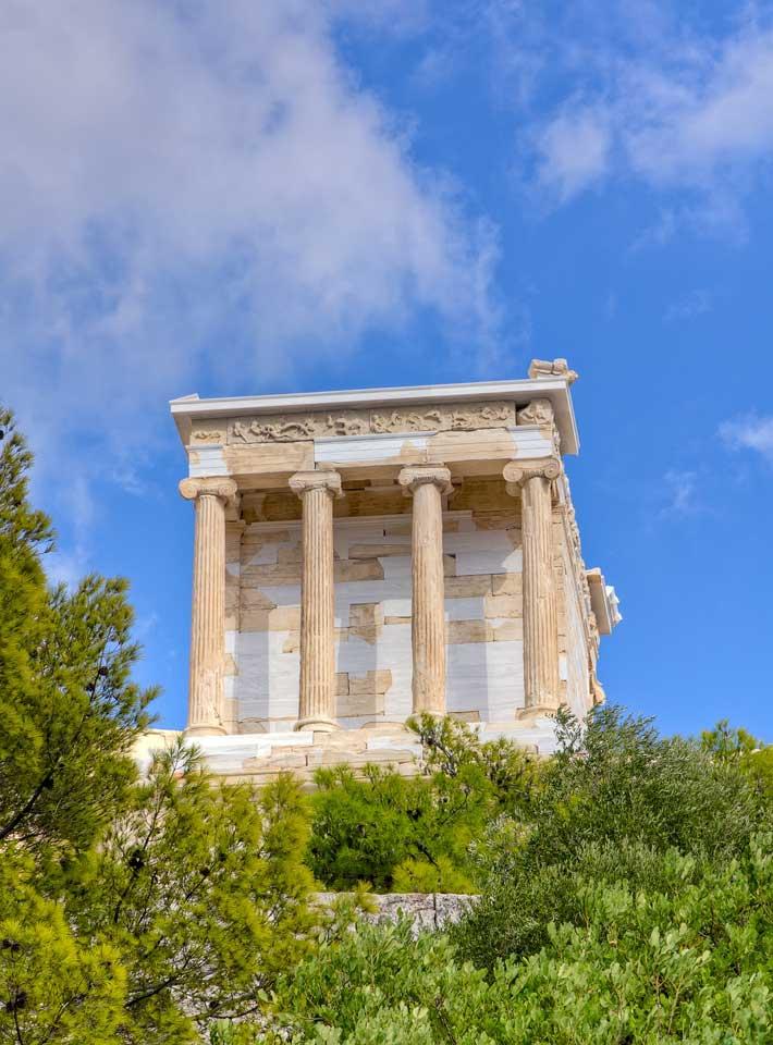 Templo de Atenea Niké de la Acrópolis de Atenas