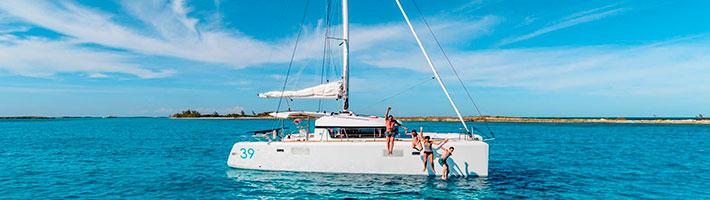 Catamarán Islas Griegas