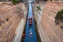 Circuito Cultural por Grecia | Canal de Corinto (Peloponeso)