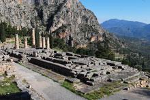 Templo de Apolo | Tour a Delfos desde Atenas
