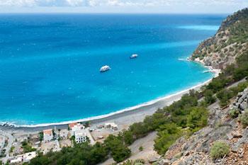 Playa de Agia Roumeli, Creta