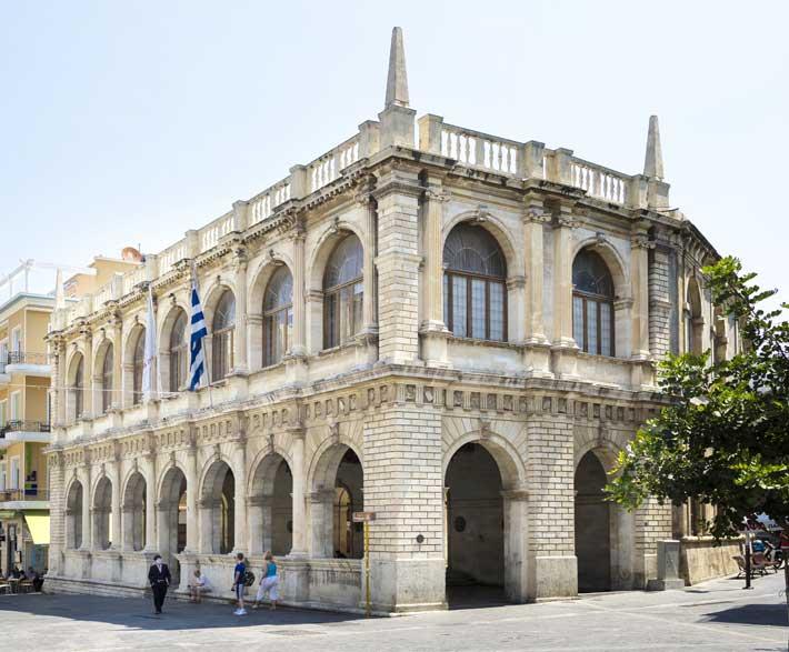 Edificio de Loggia, Heraklion Creta