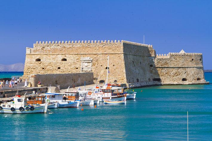 Fortaleza de Koules, Heraklion Creta
