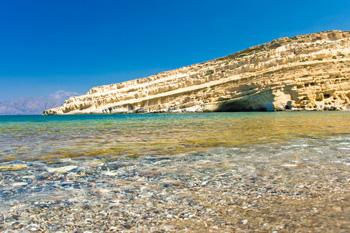 Playa de Matala, Creta