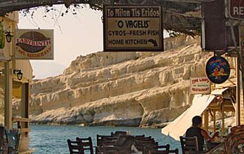 Restaurantes en Creta. Recomendados y Aconsejados