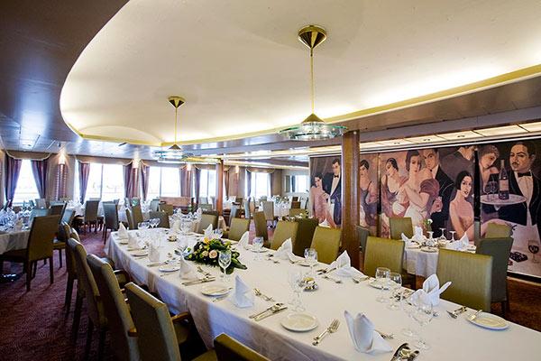 Celestyal Crystal Caruso Restaurant