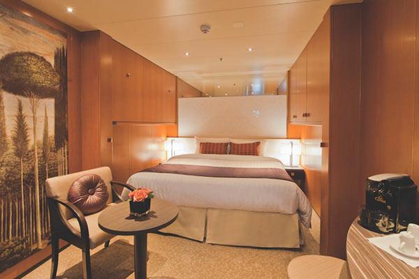 Cruceros Grecia Celestyal Experience camarote interior