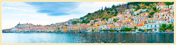 Crucero a Poros desde Atenas