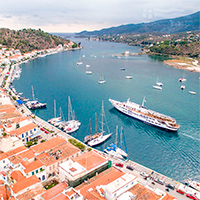 Crucero de un Día desde Atenas, visitando Egina, Poros e Hydra