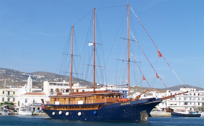 Goleta Galileo | Variety Cruises