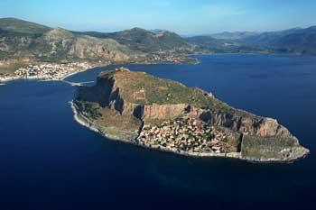 Fortaleza Bizantina de Monemvassia, Grecia