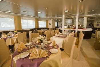 Crucero Harmony V | Restaurante de a bordo