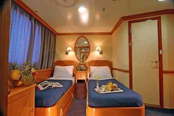 Panorama II (2) | Camarote cabina tipo camas separadas (Twin)