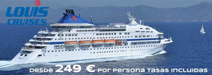 Crucero 3 Días Louis Cruises por Grecia y Turquía