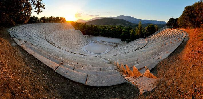 Teatro de Epidauro, Grecia