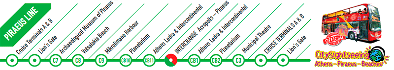 Línea Puerto Pireo