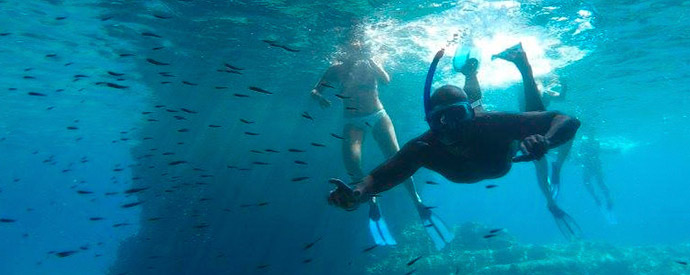 safari buceo snorkel milos