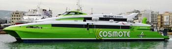 Barco Ferry FlyingCat 4 de Hellenic Seaways en Grecia