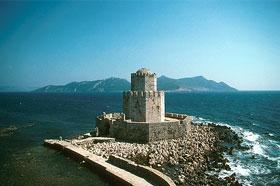 Methoni Koroni, en el Peloponeso de la Grecia Continental