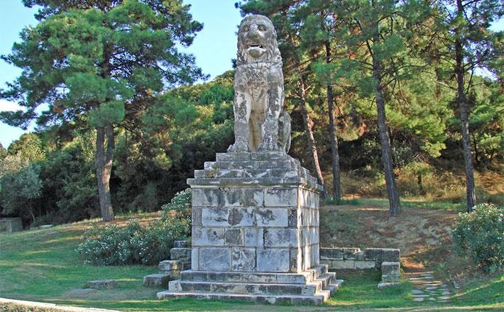 Amfipolis, en la region de Macedonia de la Grecia Continental