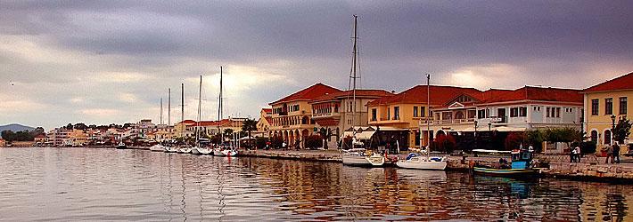 Preveza, en la región de Epiro de la Grecia Continental