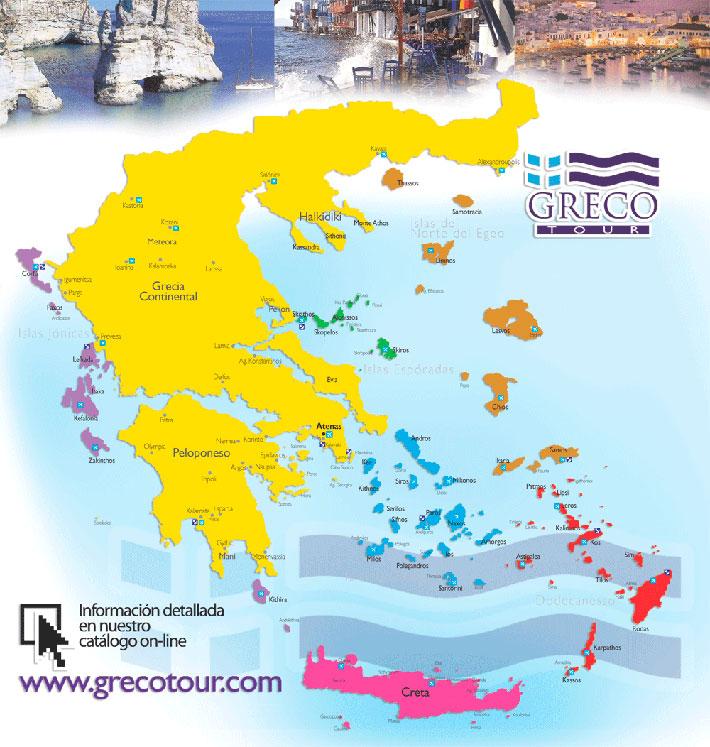 Guía náutica de Grecia y las Islas Griegas