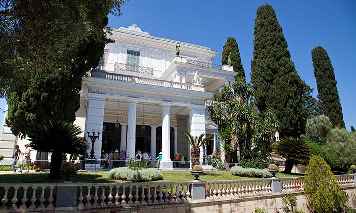 Achillion, Palacio Emperatriz Sissi, Grecia, Islas Griegas