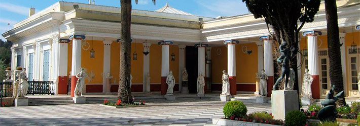 Palacio Emperatriz Sissi, Grecia, Islas Griegas
