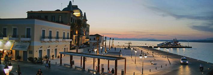 La isla de Spetses, Islas del Sarónico, Grecia, Islas Griegas