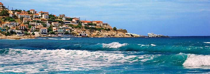 La isla de Ikaria, Islas del Egeas del Norte, Grecia, Islas Griegas