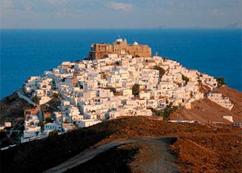 La isla de Astipalea, Islas del Dodecaneso,Islas Griegas