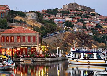 La isla de Lesvos, Islas del Egeo Norte, Grecia, Islas Griegas