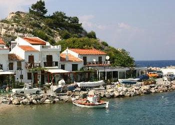 La isla de Samos, Islas del Egeo Norte, Grecia, Islas Griegas