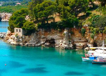 La isla de Alonisos, Alonissos, Islas Espóradas, Grecia, Islas Griegas