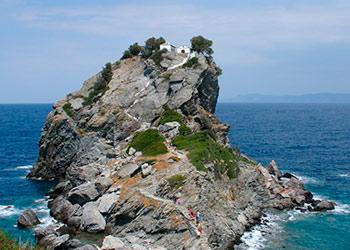 La isla de Skopelos, Escópelos, Islas Espóradas, Grecia, Islas Griegas