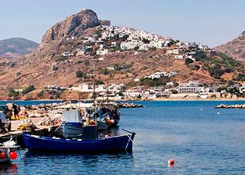 La isla de Skyros, Skiros, islas Espóradas, Grecia, Islas Griega