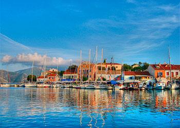 Islas griegas j nicas del j nico grecia grecotour for Casas en islas griegas