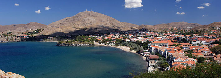 La isla de Limnos, Islas del Egeo Norte, Grecia, Islas Griegas
