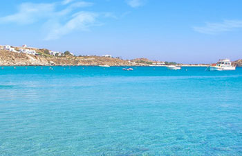 Playas de Mykonos: Playa de Ornos Beach