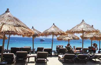 Playas de Mykonos: Playa de Psarou Beach